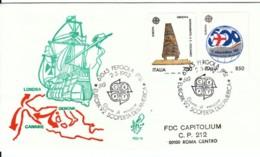 1992 - EUROPA COLOMBO - FDC VENETIA - F.D.C.