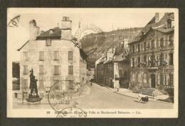 CP-MENDE- Hôtel De Ville Et Boulevard Britexte - Mende