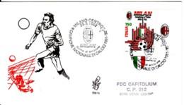 1992 -  MILAN CAMPIONE D'ITALIA - FDC VENETIA - F.D.C.