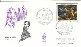 1992 -  JACOPO DA PONTE - FDC VENETIA - F.D.C.