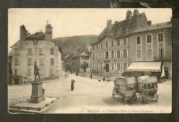 CP-MENDE- L'Hôtel De Ville Et Place D'Engerand - Mende