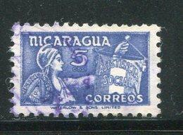 NICARAGUA- Timbre Social Oblitéré - Nicaragua