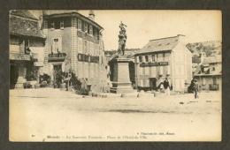 CP-MENDE- Le Souvenir Français - Place De L'Hôtel-de-Ville - Mende