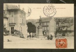 CP-MENDE- Monument Des Combattants Lozériens - Place Dangiran - Mende