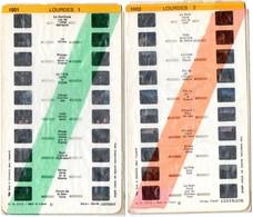 Lot De 2 Stéréocartes Lestrade  : Lourdes  1-2  N° 1001 à 1002 - Stereoscopes - Side-by-side Viewers