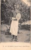 Somalie / 14 - Guerrier Somali - Somalie