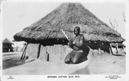 Soudan - Ethnic H / 03 - Spinning Cotton - Belle Oblitération - Soudan