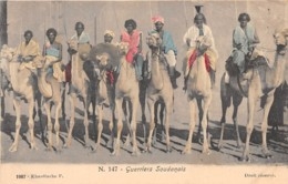 Soudan - Ethnic H / 04 - Guerriers Soudanais - Soudan