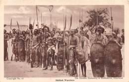 Soudan - Ethnic H / 14 - Shilluk Warriors - Défaut - Soudan