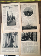 DOCUMENT 1906 DOMICILIES SUR LES TOITS DE PARIS VEILLEUR GARDE MEROVAK - Old Paper
