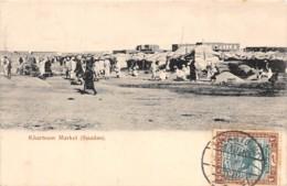 Soudan - Topo / 37 - Khartoum Market - Belle Oblitération - Soudan