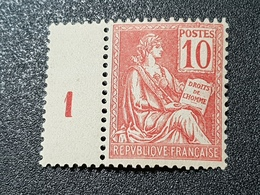 Mouchon N° 116 Neuf ** Gomme D'Origine Signé SCHELLER à 18% De La Cote  TTB - 1900-02 Mouchon