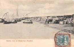 Soudan - Topo / 41 - Market River At Omdurman - Belle Oblitération - Soudan