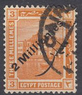 EGITTO - 1915 - Yvert 54 Obliterato. - Égypte