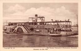 Soudan - Topo / 47 - Steamer On The Nile - Soudan