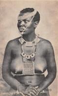 Swaziland / 01 - Swazi Girl - Nude - Swaziland