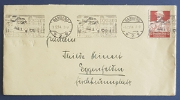 1934 Covers, Deutsches Reich, Bamberg - Eggenfelden, Allemagne, Germany - Germany