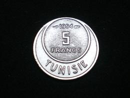 5 FRANCS TUNISIE 1954 Km # 277 Lot N°3 - Tunisie