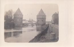 Fotokaart Carte Photo Kortrijk Courtrai Broel Torens Le Pont Du Broul (stempel Ville De Bruxelles Ecole Primaire N°10 ) - Kortrijk
