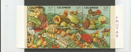COLOMBIA MNH 1981 -    Fruits - Colombia