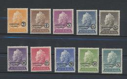 Christmas Islands  Set 1958  MNH - Christmas Island