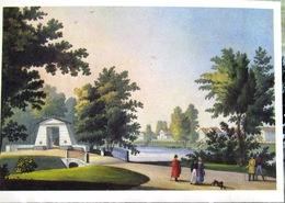 Saint-Petersburg. Black River. Copy From Engraving On Steel 1830 Reprint. USSR Russia Postcard - Russia