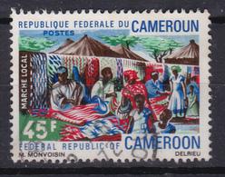 "Cameroon Cameroun 1971 ""Local Market"" (Yv 505 ) Used - Cameroun (1960-...)"