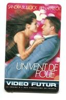 Carte VIDEO FUTUR - N°94 - Film De Cinéma - Un Vent De Folie - Frankrijk