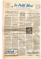 Le Petit Bleu N°8626 Sorbonne Occupée Gand Cestas Adamo M. Mathieu Edgar Faure Wilson CGT Jérusalem Viet-Nam Rugby... - Kranten