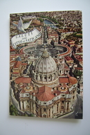 SALUTI   DA  SAN PIETRO  ROMA  VATICANO  VIAGGIATA - Vatican