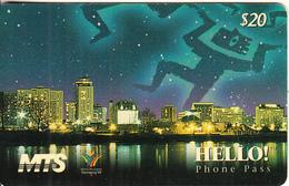"CANADA - XIII Pan Am Games Winnipeg ""99, MTS Magnetic Prepaid Card $20, Tirage 4000, 10/98, Used - Canada"