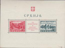 OCCUPATION ALLEMANDE - BLOC  NEUF  N° YT 1 - Serbie
