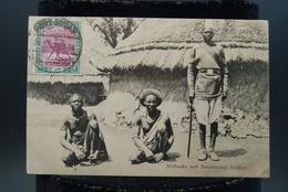 CPA Afrique Soudan Sudan Shillouks And Soudanease Soldier Soldat Soudanais Indigènes - Soudan