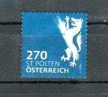 """Österreich 2018: """"WAPPEN- St.Pölten""""  Gestempelt(siehe Foto/Scan) - 1945-.... 2ème République"""