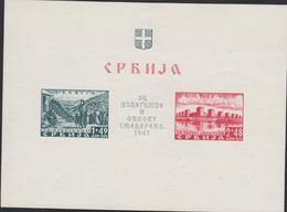 OCCUPATION ALLEMANDE - BLOC  NEUF  N° YT 2 - Serbie
