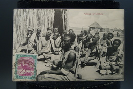 CPA Afrique Soudan Sudan Group Of Dinkas Indigènes - Soudan