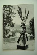 1964  LUCIANO MINGUZZI   SCULTORE BASSANO DEL GRAPPA    EVENTO MANIFESTAZIONE CARTOLINA INVITO VIAGGIATA - Manifestazioni