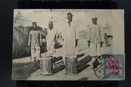 CPA Afrique Soudan Sudan  Indigènes Musicians Of The Tribe Of Niam-Niam At KODOK White Nile Musiciens Nil Blanc - Soudan