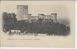 14 - Château De Courcy. - Vue Prise Du Levant   ***Précurseur*** - France
