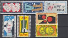 1961.127 CUBA 1961. CONFERENCIA PAISES SUBDESARROLLADOS MNH. - Cuba
