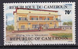 "Cameroon Cameroun 1984  ""Hotel De Ville MBALMAYO "" (Yv 737 ) Used - Cameroun (1960-...)"