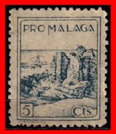 ESPAÑA  SELLO VIÑETA PRO MALAGA 5 CENTIMOS - 1931-50 Nuevos & Fijasellos
