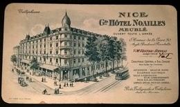 BIGLIETTO DA VISITA HOTEL NOAILLES NIZZA - Cartoncini Da Visita