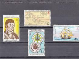 Salomon Nº 423 Al 426 - Islas Salomón (1978-...)