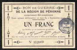 1 Franc PERONNE - Bons & Nécessité