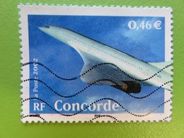 Timbre France YT 3471 - Le Siècle Au Fil Du Timbre - Transports - Concorde - 2002 - Used Stamps