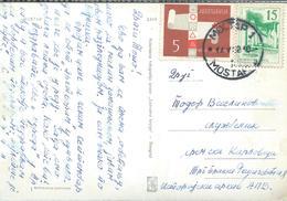 Yugoslavia - 1962.stamps Definitive Issue:  And Red Cross Stamp.Postcard - Mostar - 1945-1992 République Fédérative Populaire De Yougoslavie