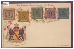 DIE ERSTEN BRIEFMARKEN VON BADEN - TB - Stamps (pictures)