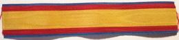Cinta De Medalla Cruz Mérito Naval Distintivo Azul. Armada. España - Militares