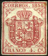 España Nº 33A. Año 1854 - 1850-68 Royaume: Isabelle II